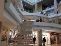 Лестница на втором этаже Каскада