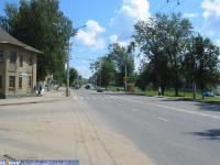 Пересечение улиц Калинина и Ивана Франко