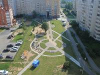 Вид на сквер Игоря Петрикова