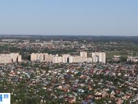 Панорама микрорайона Альгешево