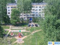 Вид на двор дома Гузовского 7