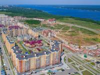 Вид сверху на Новый город