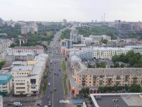 Вид на улицу Композиторов Воробьевых