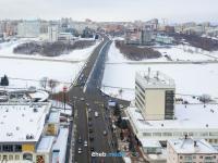Вид сверху на Дом мод и Московский мост, 2018 год