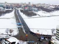 Открытие Московского моста