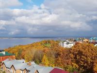 Золотая осень на улице Сверчкова - Панорама