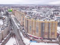 Вид с высоты на микрорайон Кувшинка