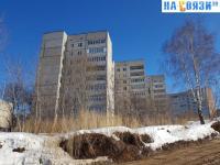 Вид снизу на ул. Гагарина 45
