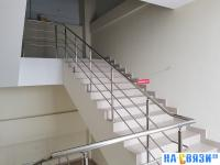 """Перекрытая лестница """"Прохода нет"""""""
