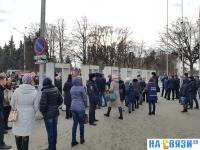 Рамки на площади Республики