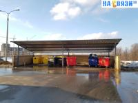 Площадка для мусора на Лукина 5