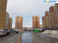 Двор домов на улице Миначева