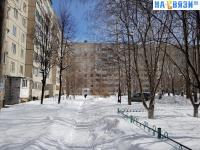 Пешеходная дорожка зимой