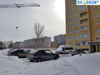 Зимняя парковка у первого подъезда