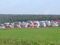 Вид на коттеджный поселок Дубки