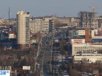 Вид на улицу Калинина с высоты