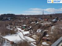 Вид на ул. Красногорская с Октябрьского моста