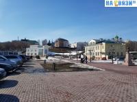 Площадка перед музеем Сеспеля