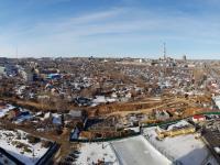 Панорама на строительство микрорайона Кувшинка