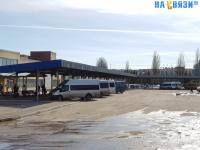 Перрон нового автовокзала