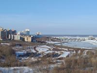 Панорамный вид на чебоксарский залив
