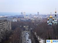 Вид на город с улицы Мичмана Павлова