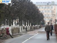 Пешеходная дорожка вдоль Первой площадки