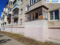 Балконы, Самострой на ул. Чапаева 7