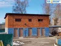 Строение на территории детского сада