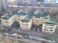 Вид сверху на ул. Гагарина 30А