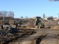 Выравнивание оврага возле ул.Энергетиков