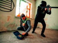Лазертаг в Убежище на стадионе Волга