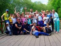 Празднование окончания учебного года в парке Банзай