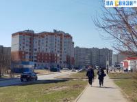 Пешеходная дорожка вдоль бульвара Миттова