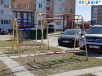 Площадка для выбивания ковров