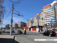 """Нерегулируемый пешеходный переход на остановке """"Институт образования"""""""
