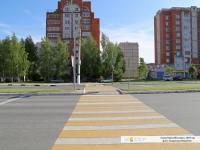 """Пешеходный переход между остановками """"Дом правосудия"""""""