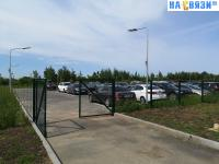 Парковка у чебоксарского аэропорта