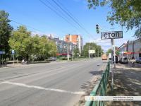 """Светофор у завода """"Металлист"""""""