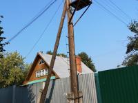 Столб на улице Константина Иванова