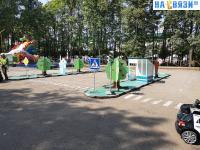 Площадка для изучения правил дорожного движения