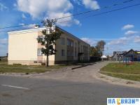 Двор дома Сосновская 31