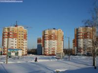 Новые дома по улице Строителей