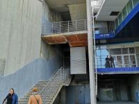 Внешняя лестница ТРК Каскад