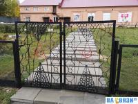 Ворота со звездами