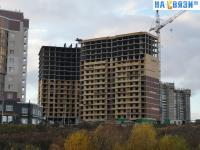 Стройка - проспект Тракторостроителей, поз. 4 (12 октября 2019 года)