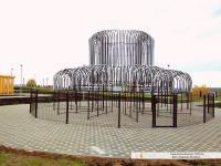 Зимний фонтан в Новочебоксарске