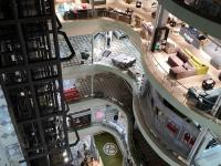 Вид с 6 этажа Мега Молла