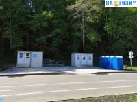 Туалеты на центральном пляже