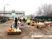 Мини-рынок на улице Эльгера